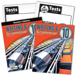 BJU Press Writing & Grammar 10 Home School Kit, 4th Edition