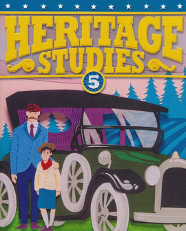 BJU Press Heritage Studies 5 Student Text 4th ED