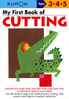 My First Book of Cutting (Ages 3-5, Kumon Workbooks)