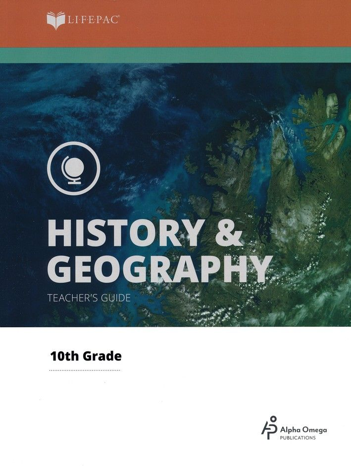 Alpha Omega LIFEPAC 10th Grade - History/Geography - World History - Teacher's Guide