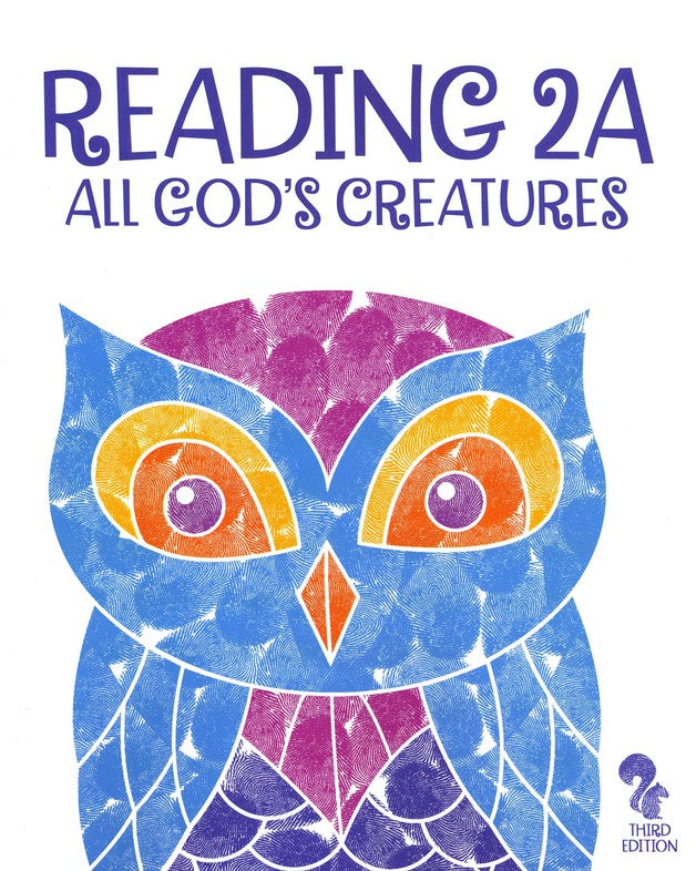 BJU Press Reading 2A Student Reader/Text, 3rd Edition