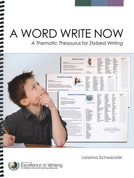 A Word Write Now: A Thematic Thesaurus for Stylized Writing