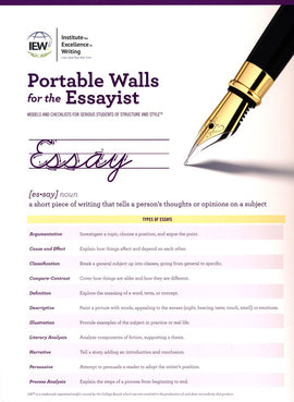 Portable Walls for the Essayist