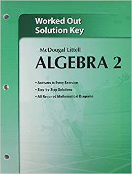 McDougal Littell Algebra 2 Worked-Out Solutions Key