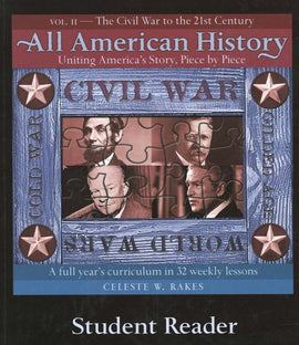 All American History Volume 2 Student Reader with Companion Guide Download
