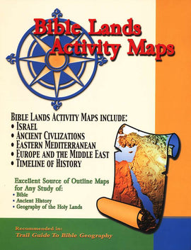 Bible Lands Activity Maps