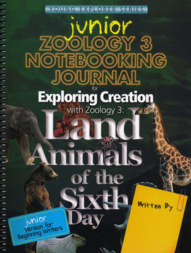 Exploring Creation with Zoology 3 Junior Notebooking Journal