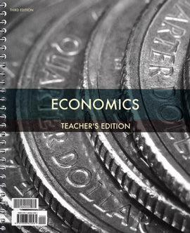 BJU Press Economics Teacher's Edition, 3rd Edition