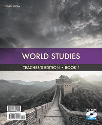BJU Press World Studies Teacher's Edition with CD (4th ed.)