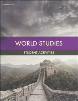 BJU Press World Studies Student Activities (4th ed.)