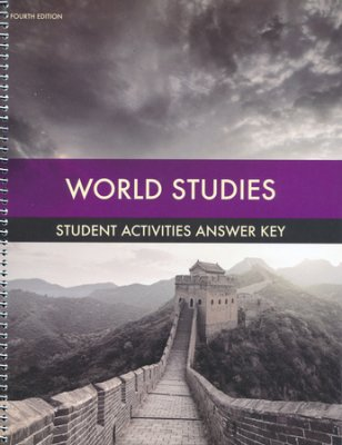 BJU Press World Studies Student Activities Answer Key (4th ed.)