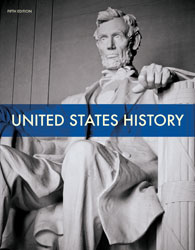 BJU Press United States History Grade 11 Student Text, 5th Edition