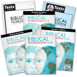 BJU Press Biblical Worldview Home School Kit (ESV)
