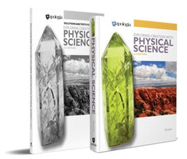 Apologia Exploring Creation with Physical Science Basic Set (Text, Solutions & Test Manual) 3rd Edition