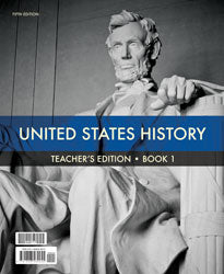 BJU Press United States History Grade 11 Teacher's Edition 2 Book Set, 5th Edition