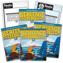BJU Press Heritage Studies 4 Home School Kit, 3rd Edition