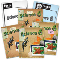 BJU Press Science 6 Home School Kit, 4th Edition
