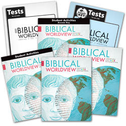 BJU Press Biblical Worldview Home School Kit (KJV)