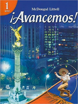 ¡Avancemos!: Student Edition Level 1 (2007 Edition) (USED) - PEP Ohio Edition