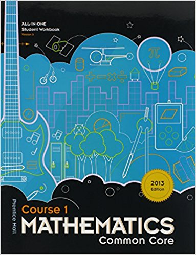 Prentice Hall Mathematics Course 1 Student Workbook