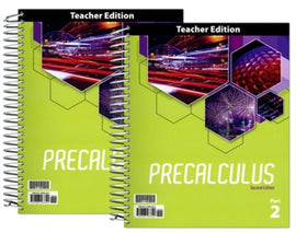 BJU Press Precalculus Teacher's Edition