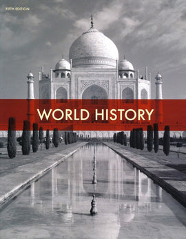 BJU Press World History Student Text, 5th Edition (10th Grade)
