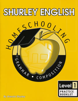 Shurley English Practice Booklet, Level 1