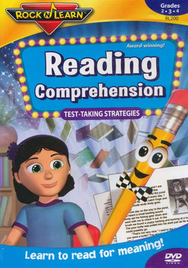 Reading Comprehension DVD (Test Taking Strategies) for Grades 2 - 4