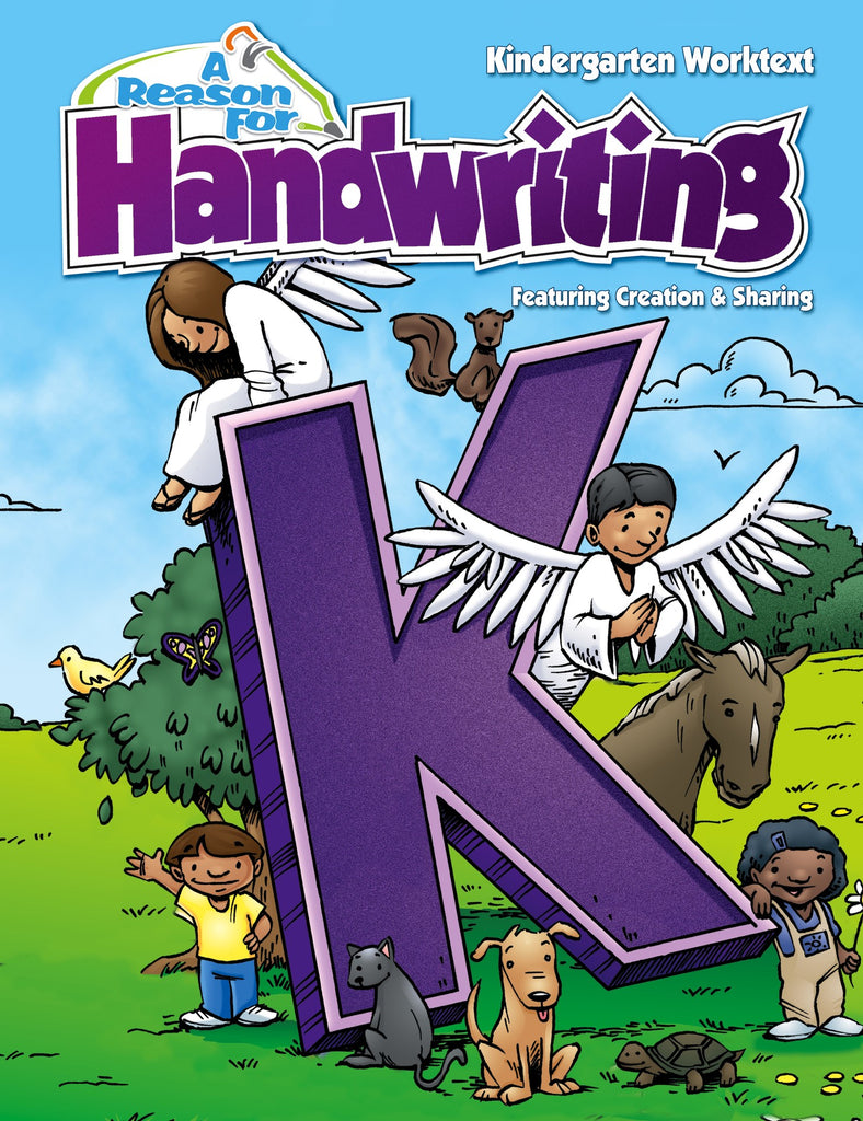 A Reason For Handwriting K Student Worktext - Intro to Manuscript