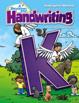 A Reason For Handwriting K - Intro to Manuscript