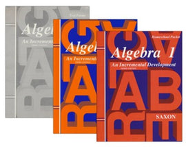 Saxon Math Algebra 1 Kit, 3rd Edition