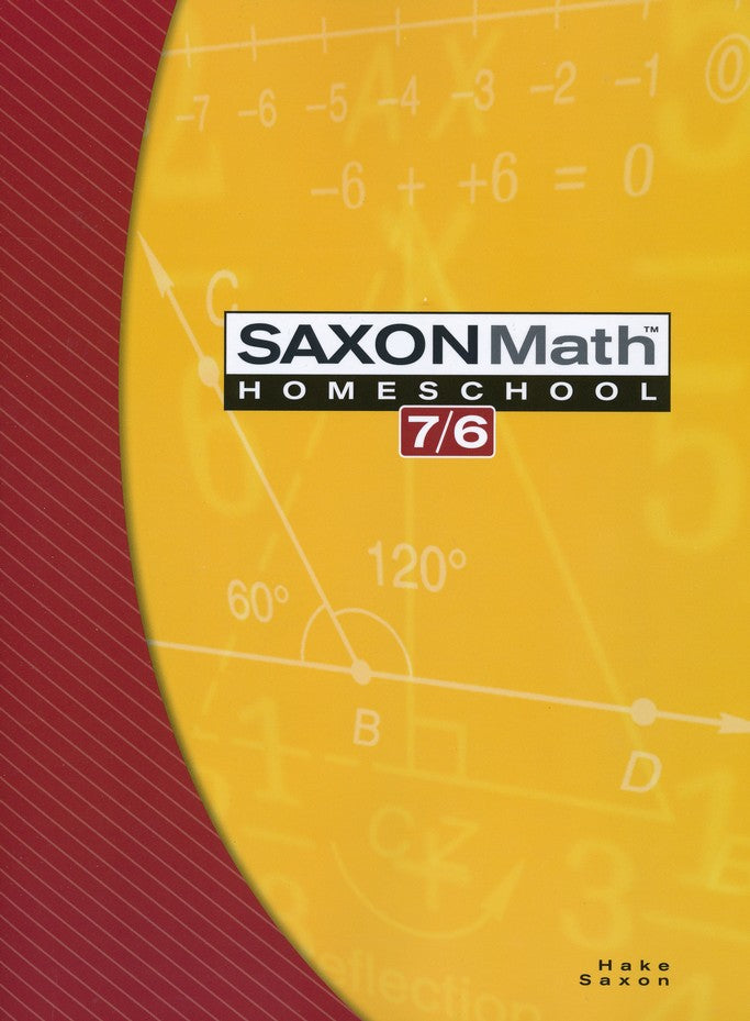 Saxon Math 76 4th Edition, Student Edition
