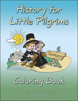 History for Little Pilgrims Coloring Book, Grade 1