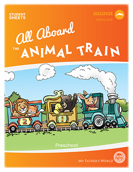 All Aboard the Animal Train Student Sheets