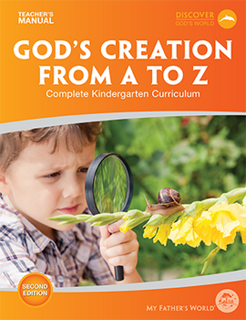 God's Creation from A to Z Teacher's Manual, 2nd Edition