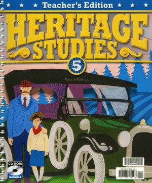 BJU Press Heritage Studies 5 Teacher's Edition 4th ED