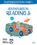 BJU Press Reading 3A and 3B Teacher's Edition Set 3rd ED