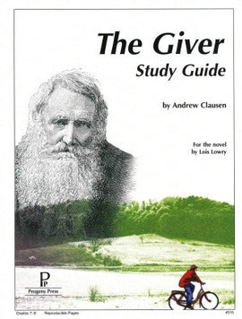 Giver Study Guide Progeny Press