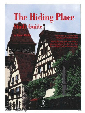 Hiding Place Study Guide Progeny Press