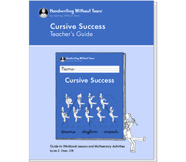 Cursive Success 4th Grade Teacher's Guide - Handwriting Without Tears