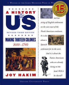 History of US: Making Thirteen Colonies 1600-1740, Volume 2