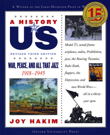 History of US: War, Peace and All That Jazz 1918-1945, Volume 9