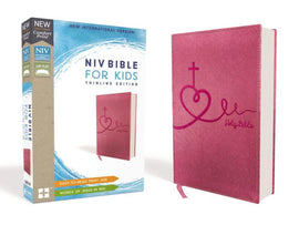 NIV Bible for Kids, Leathersoft, Pink
