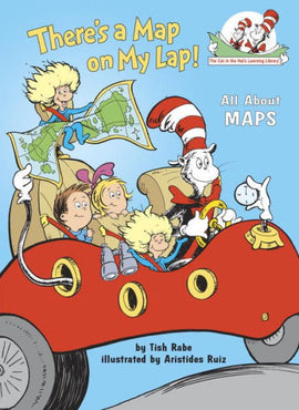 There's a Map on My Lap! (Cat in the Hat Learning Library)