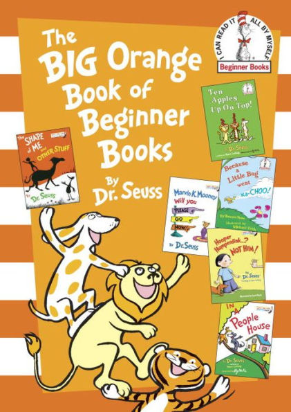 The Big Orange Book of Beginner Books