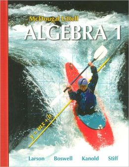 McDougal Littell Algebra 1 Textbook (USED)