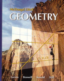 McDougal Littell Geometry Textbook (USED)