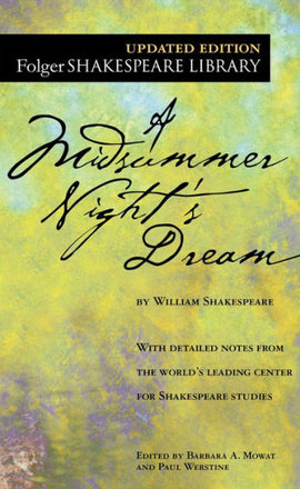 A Midsummer Night's Dream (Folger Shakespeare Library Series) (B)