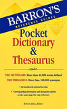 Barron's Pocket Dictionary & Thesaurus
