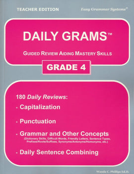 Daily Grams: Guided Review Aiding Mastery Skills Grade 4